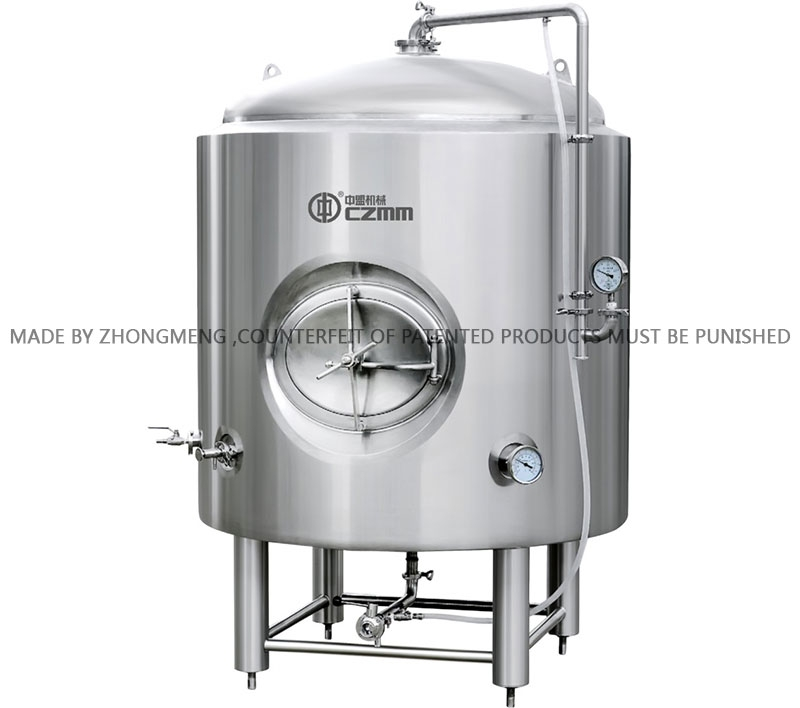 Food machinery manufacturers Bright beer tank