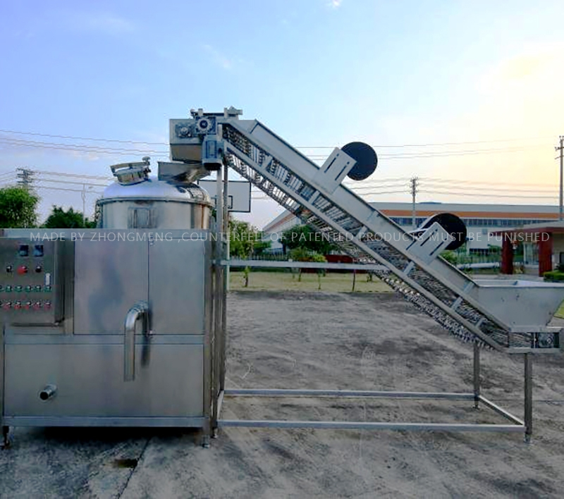 Passion fruit automatic pulp shell separation unit